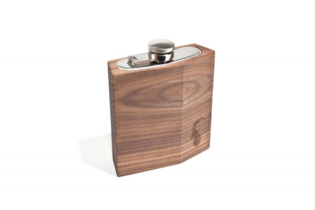 Pocket-Flachmann Nussbaum 90ml